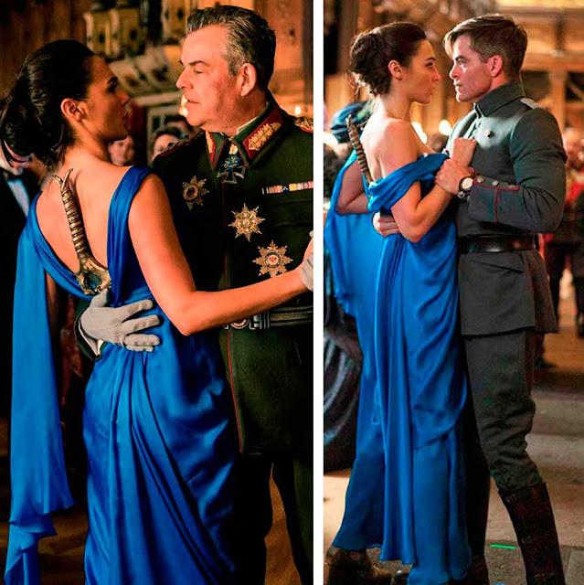 Vestido da Diana (Gal Gadot)