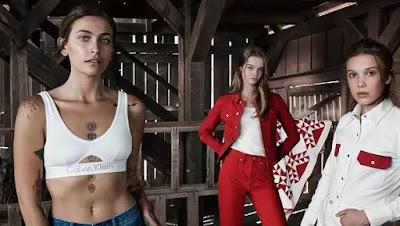 Calvin Klein models female 2019