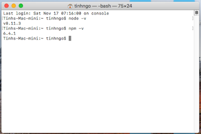 npm install -g react-native-cli