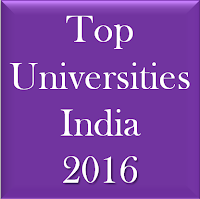 Top Universities in India 2016