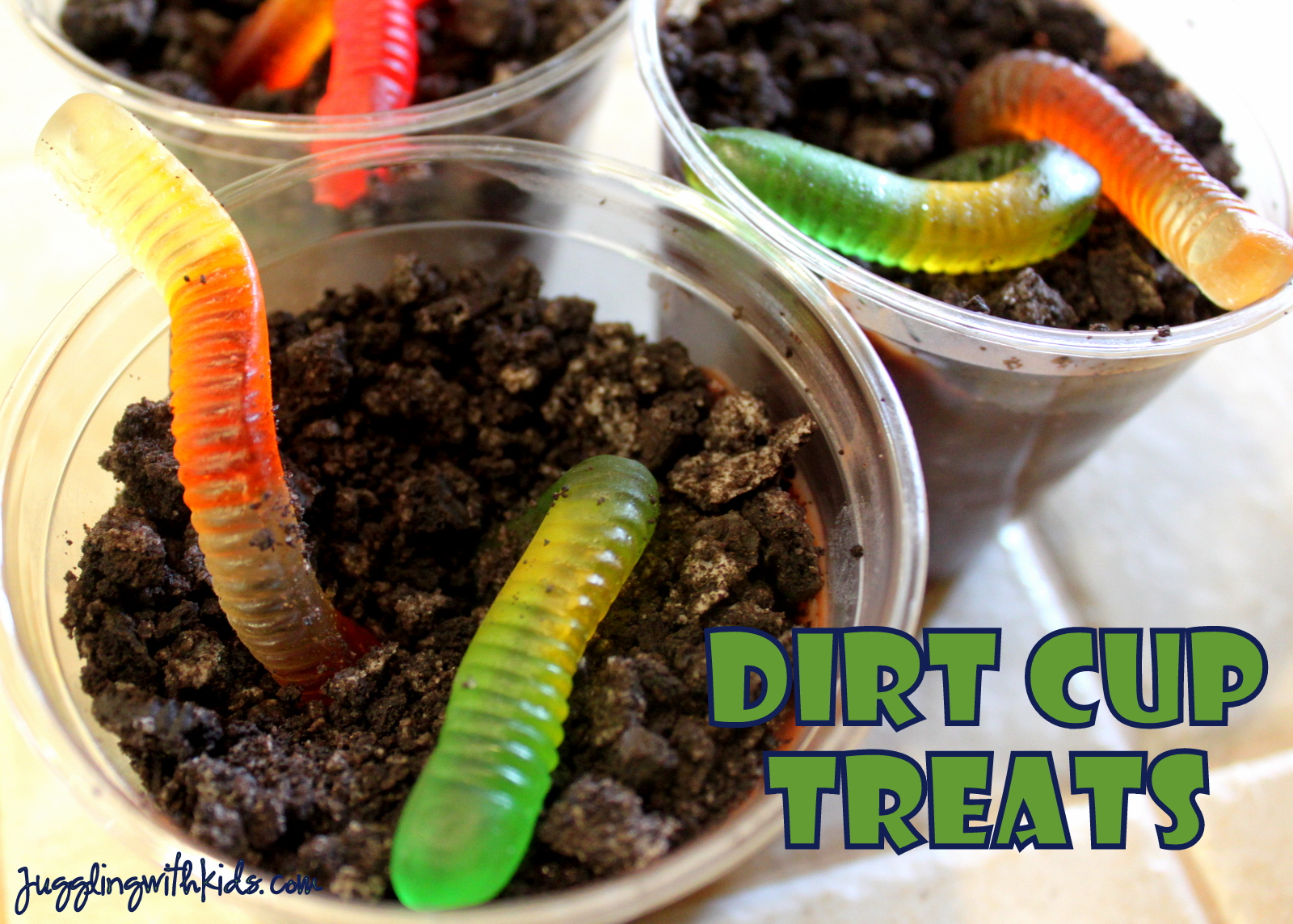 Mud Cake Recipe With Gummy Worms