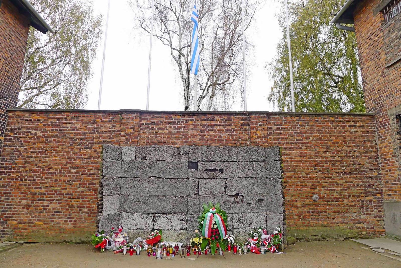 Auschwitz Execution Wall