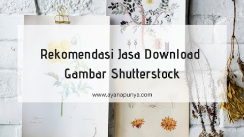 Rekomendasi Jasa Download Gambar Shutterstock
