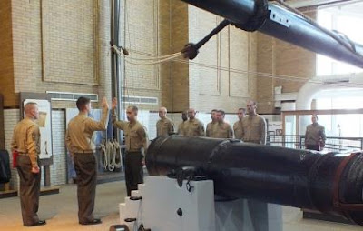 Marines take oath of service at Erie Maritime Museum