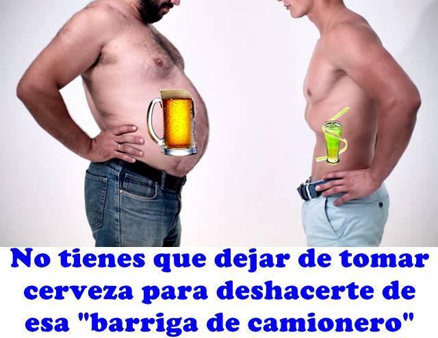 Aprende a deshacerte de la barriga cervecera