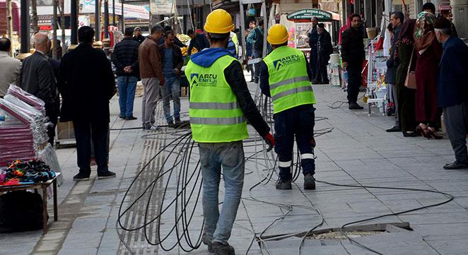 DEDAŞ, Sur'daki elektrik hatlarını yeraltına alıyor