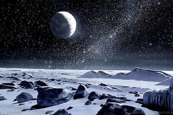 Pluto's Ice