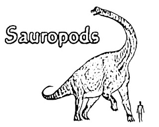 Sauropoda Coloring Page With Name