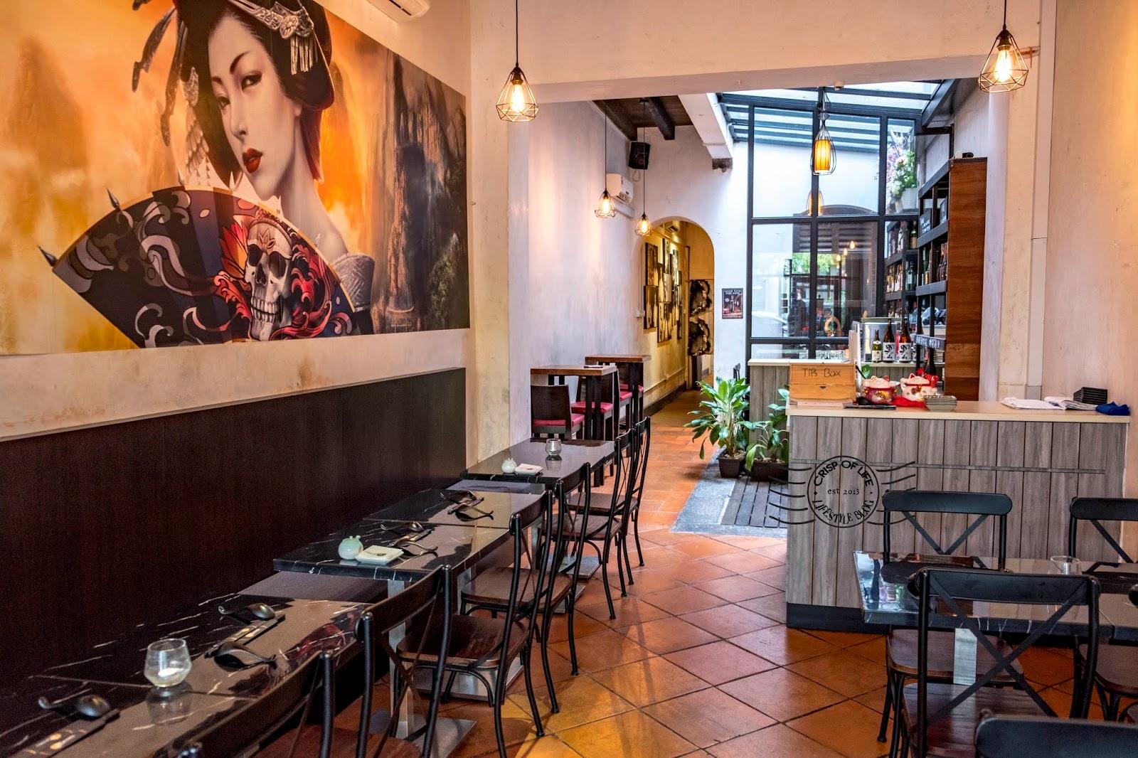 Gomo Wine Bar & Restaurant @ Lebuh Campbell, Georgetown, Penang