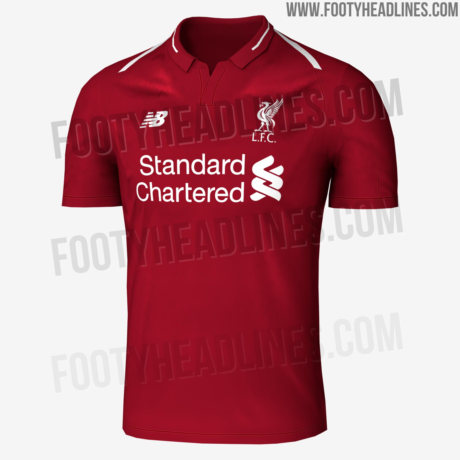 dc9834f48ee Leaked: Liverpool 18-19 Home, Away & Third Kits (Fakes With Real ...