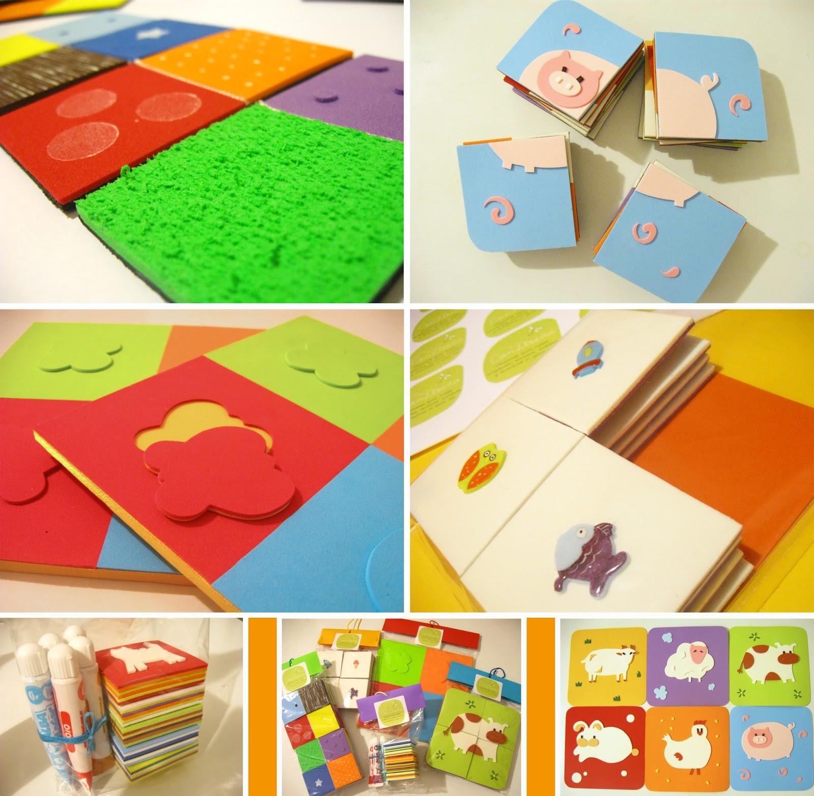 Accesorios Infantiles Con Diseno Juegos Didacticos En Goma Eva