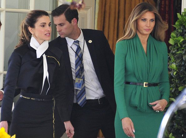 Melania Trump the best dressed first lady these days