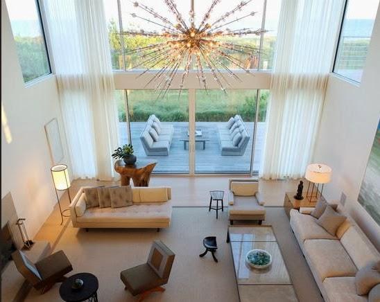 Rumah Impian Sederhana Model Lampu Hias Untuk Ruang Tamu