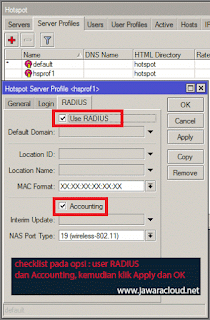 cara setting user manager dan radius di mikrotik RouterOS
