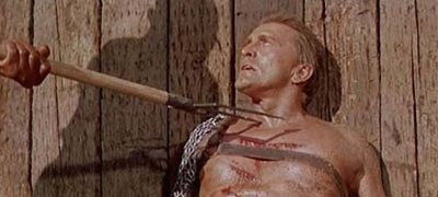 Kirk Douglas faces death in Spartacus (1960) movieloverreviews.filminspector.com