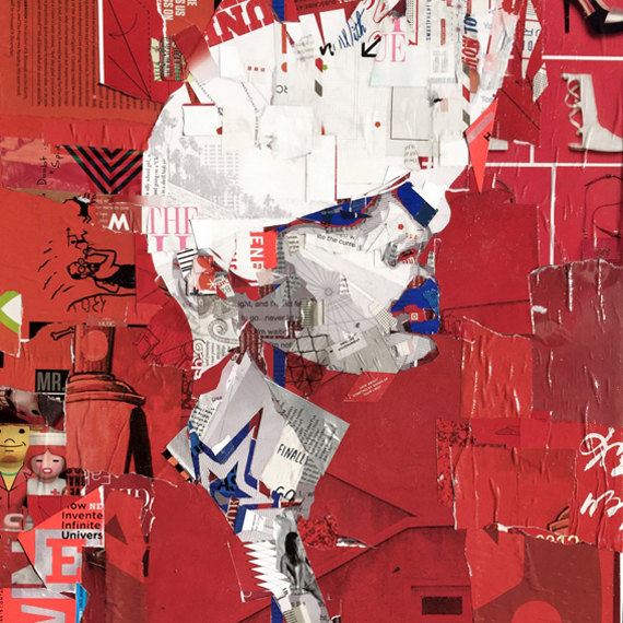 collage and portraits by Derek Gores