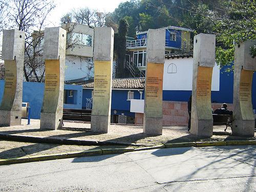 La Chascona em Santiago do Chile