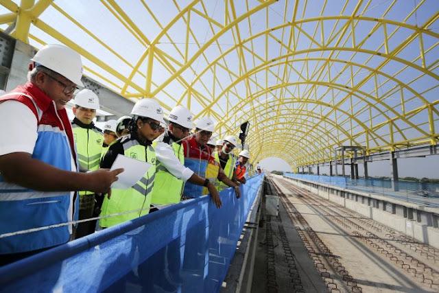 KPK Akui Sedang Pelototi BUMN yang Garap Proyek LRT Palembang