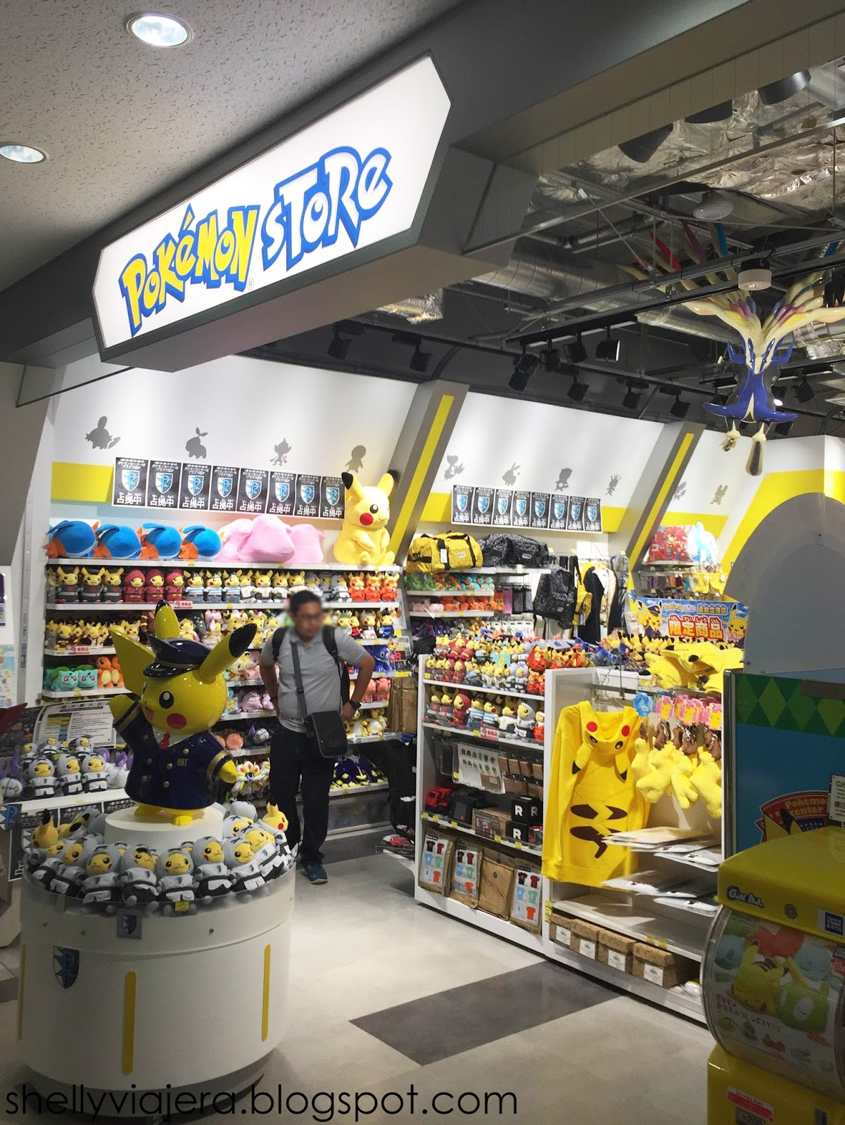 Before Heading Back To Manila We Caught Another Pokemon Store By Accident This One Is At Narita International Airport Terminal 2