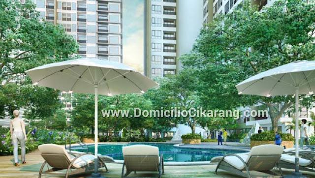 Domicilio Apartment Cikarang Bekasi Swimming Pool