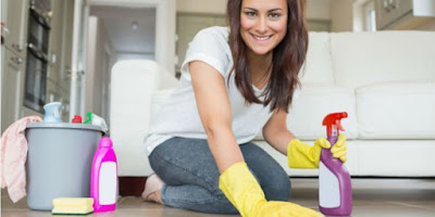 Kesehatan -  6 Jenis Campuran Pembersih Rumah yang Pantang Digunakan