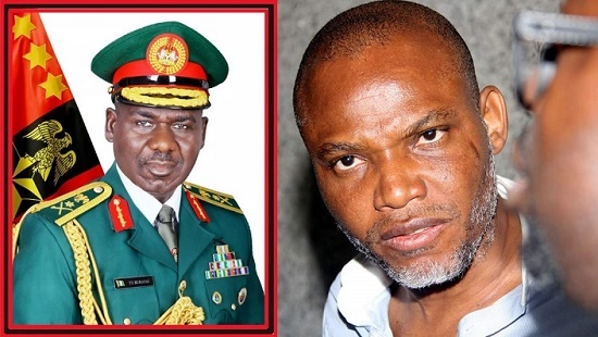 WORLD IPOB DAY!!! CHIEF OF DEFENSE STAFF SEND MESSAGE TO NNAMDI KANU, OTHER AGITATORS (MUST READ)