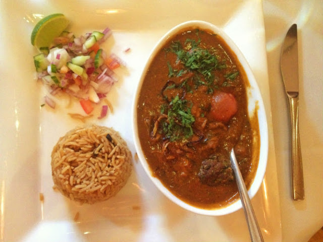 Indian Food at Cafe Spice Namaste