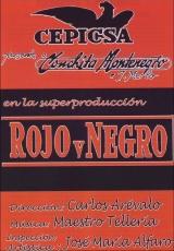 """Carátula del DVD: """"Rojo y negro"""""""