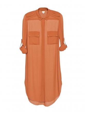 0396dcd896a29 Silk Tunic Dress  Wilfred via  Aritzia