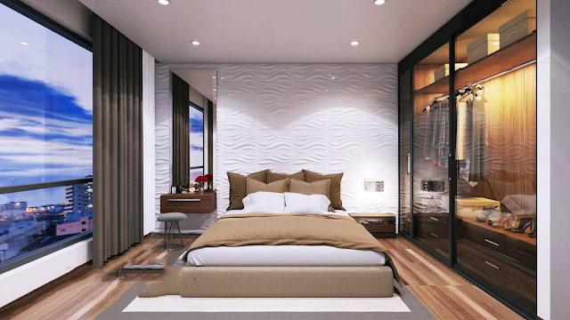 Phòng ngủ chung cư 35 Lê Văn Thiêm