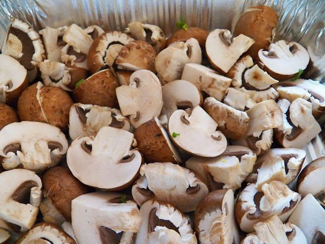 Baked Baby Bella Mushrooms