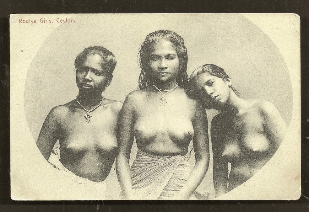 three Rodiya Women - Ceylon (Sri Lanka)