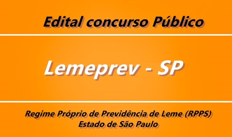 Concurso Lemeprev 2017