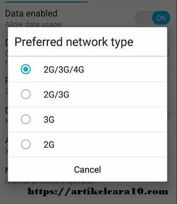 cara memperkuat sinyal android tanpa aplikasi
