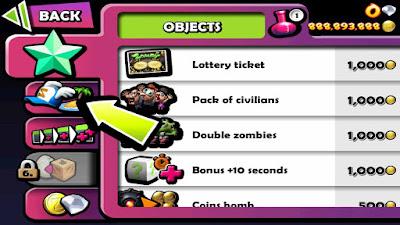 cara cheat zombie tsunami banyak gem