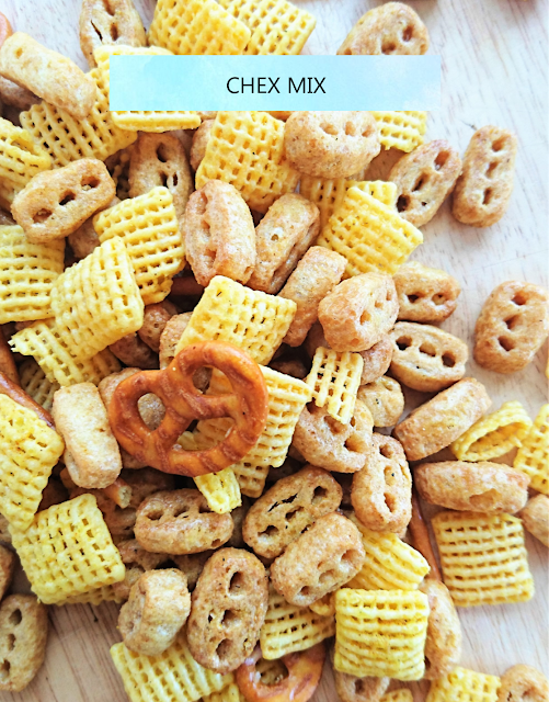 sweetly, mel: Chex Mix