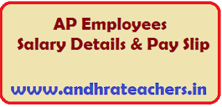 AP Employees Salary Details AP Employees Salary Details AP Employees Pay Particulars Know your salary details from below link AP Employee Pay Slips or AP Employee Salary Slip or AP Employees Pay Details  is available. All AP Employees who are working in various Government Department and Teachers can check Salary details online and download pay slips with your Treasury ID