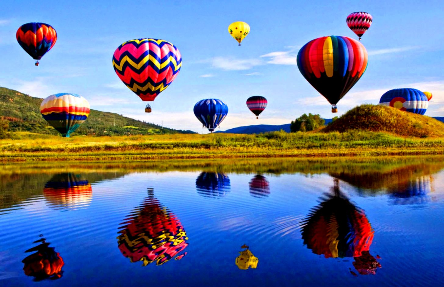 Albuquerque Hot Air Balloons Screensavers Wallpaper Wallpapers