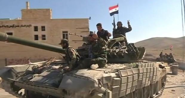 الدفاع الروسية: الجيش السوري يسيطر على 96% من مساحة سوريا
