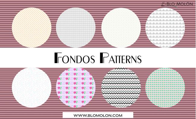 fondos patterns cinco