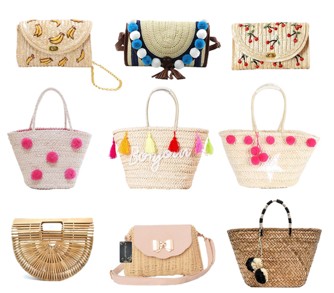 On Trend Sraw Bags You NEED for the summer - under $50