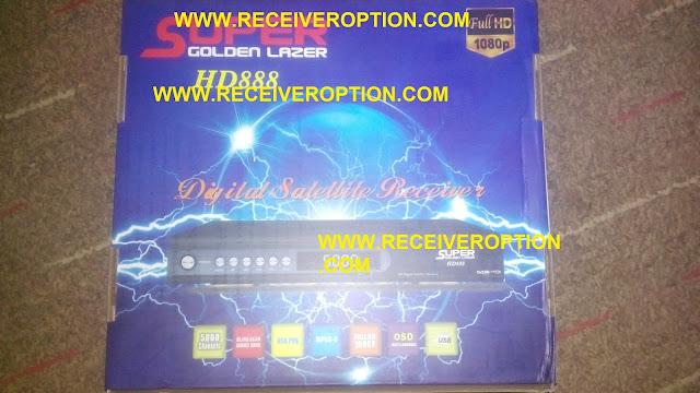 SUPER GOLDEN LAZER HD888 RECEIVER POWERVU KEY OPTION