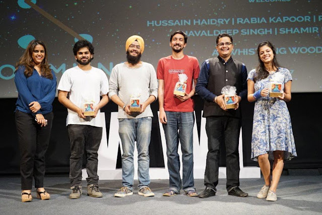 Kommune Poet Group performs at the Season 5 Finale of 5th Veda session at Whistling Woods International
