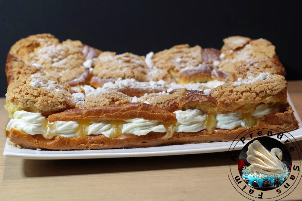 Gâteau choux citronné façon Conticini