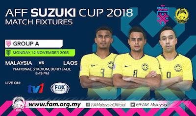 Malaysia vs Laos AFF Suzuki 2018