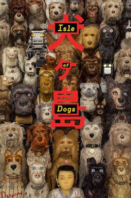 l'affiche de l'ile aux chiens sur lacn
