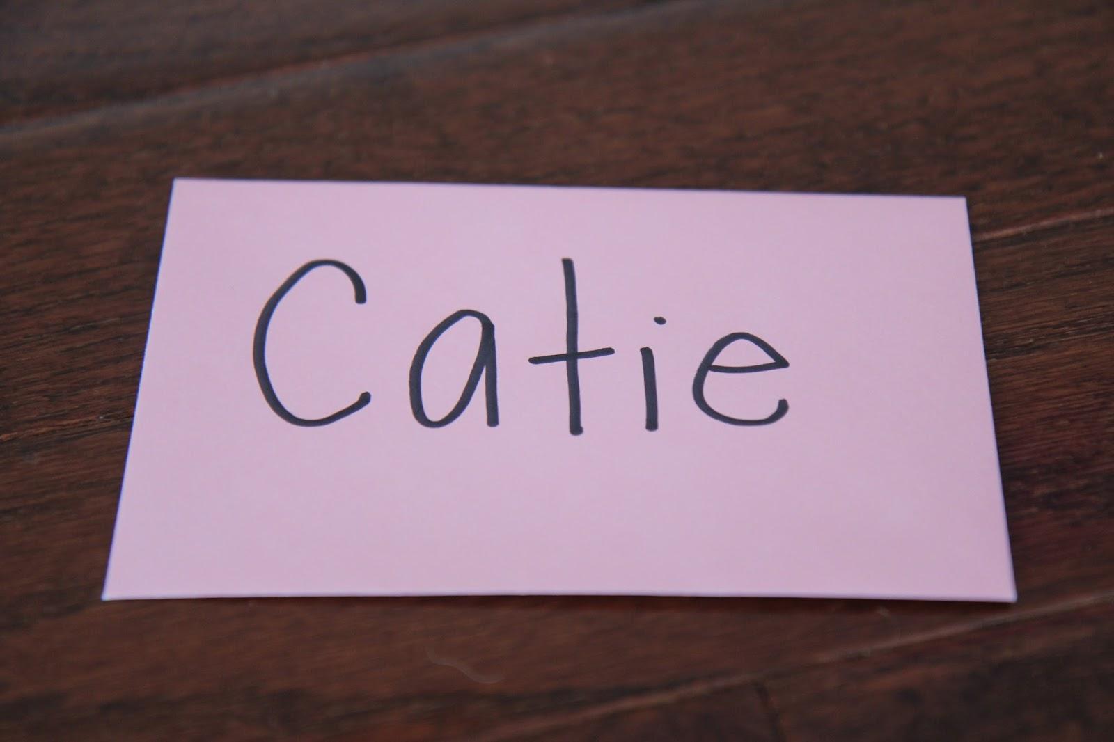 Name Writing Paper