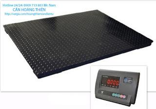 cân sàn điện tử yaohua 3 tấn