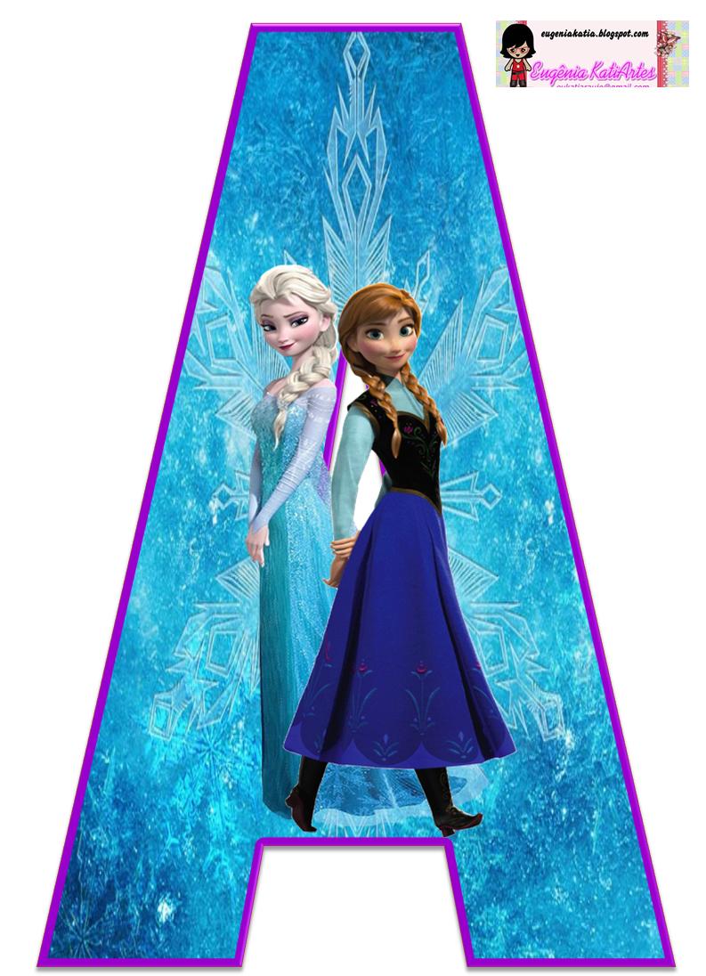 Frozen Alphabet - Bing images