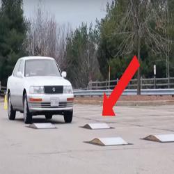 As futurísticas suspensões eletromagnéticas: Veja o que acontece quando o carro passa nos obstáculos